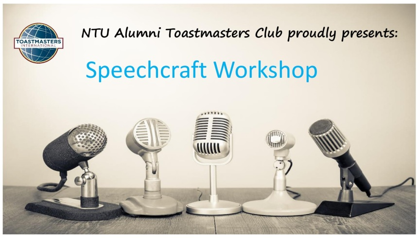 Speechcraft: Trainers' Profiles and Workshop Programme
